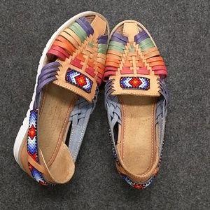 Shoes - Authentic Mexican huaraches sandles sz7 Mex sz4